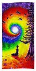 Evening Chakra Meditation Hand Towel