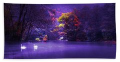 Evening Falling - Bosna River Hand Towel