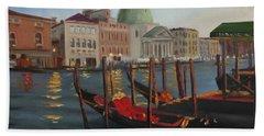 Evening In Venice Hand Towel