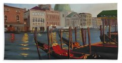 Evening In Venice Bath Towel