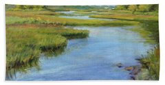 Evening On Cape Cod Hand Towel