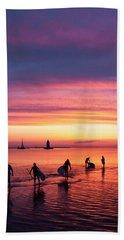 Evening Paddleboard Bath Towel