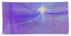 Hand Towel featuring the digital art Evening Star by Victoria Harrington