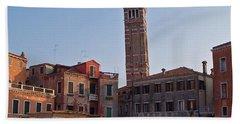 Evening Sun. Venice. Bath Towel