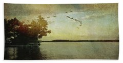 Evening, The Lake Hand Towel