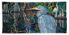 Everglades Hand Towel by Donald Maier