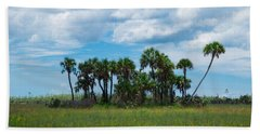 Everglades Landscape Bath Towel by Christopher L Thomley