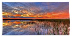 Everglades Sunset Bath Towel