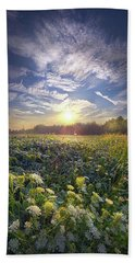 Bath Towel featuring the photograph Every Sunrise Needs Its Day by Phil Koch