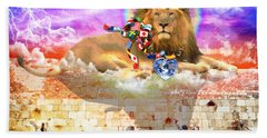 Bath Towel featuring the digital art Every Tribe Every Nation by Dolores Develde