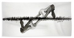 Evolution Hand Towel by Edwin Alverio