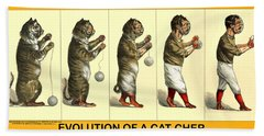 Evolution Of A Cat-cher Hand Towel