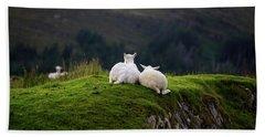Ewe And Me Bath Towel