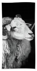 Ewe Me Hand Towel by Jez C Self