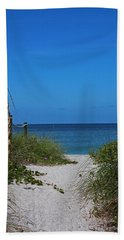 Hand Towel featuring the photograph Exclusively Captiva by Michiale Schneider