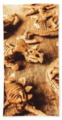 Exhibition In Prehistoric Art Hand Towel