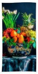Exotic Bowl Of Fruit Hand Towel