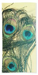 Exotic Eye Of The Peacock Hand Towel