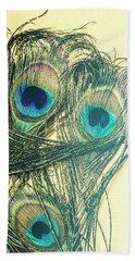 Exotic Eye Of The Peacock Bath Towel