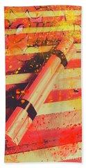 Explosive Comic Art Bath Towel