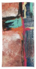 Expressionist Cross 5- Art By Linda Woods Hand Towel
