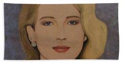 Exquisite - Jennifer Lawrence Bath Towel