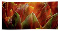 Extraordinary Passion Bath Towel by Diana Mary Sharpton