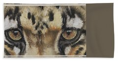 Eye-catching Clouded Leopard Hand Towel
