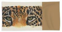 Jaguar Gaze Hand Towel