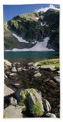 Eye Lake-rila Lakes Bath Towel