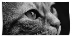 Eye Of The Cat Bath Towel