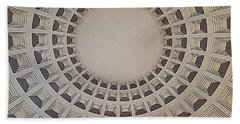 Bath Towel featuring the photograph Wide View Of A Dome by Karen J Shine