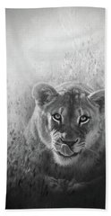 Eye Of The Lion Hand Towel