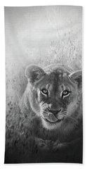 Eye Of The Lion Bath Towel