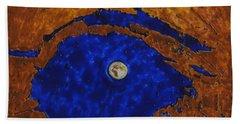 Eye Of The Moon Bath Towel