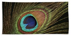 Eye Of The Peacock #11 Hand Towel