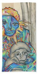 Eye Of The Storm Bath Towel
