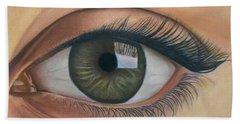 Eye - The Window Of The Soul Bath Towel