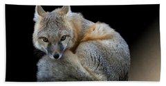 Eyes Of The Fox Bath Towel
