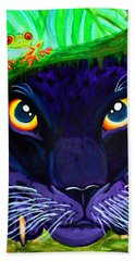 Eyes Of The Rainforest Bath Towel