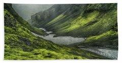 Eyjafjallajokull Iceland 4 Bath Towel