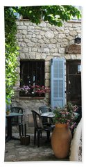 Eze Cobblestone Patio Bath Towel by Carla Parris
