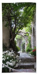 Eze Passageway Bath Towel by Carla Parris