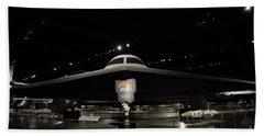 B - 2 Bomber Hand Towel by David Bearden
