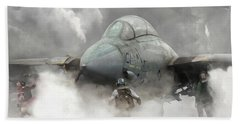 F-14 Smokin' Hot Bath Towel