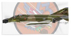 F-4d Phantom Bath Towel