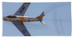 F-86 Jolley Roger Bath Towel