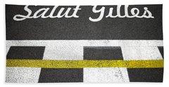 F1 Circuit Gilles Villeneuve - Montreal Hand Towel