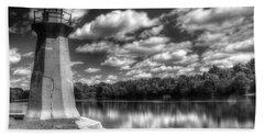 Fabyan Lighthouse On The Fox River Hand Towel
