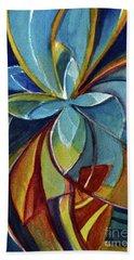 Fractal Flower Hand Towel